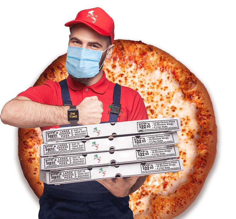 Joes Pizza and Pasta at Coral Springs Delivery Guy